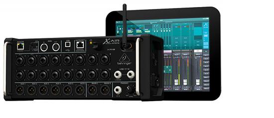 Цифровий аудіо мікшер Behringer X AIR XR18